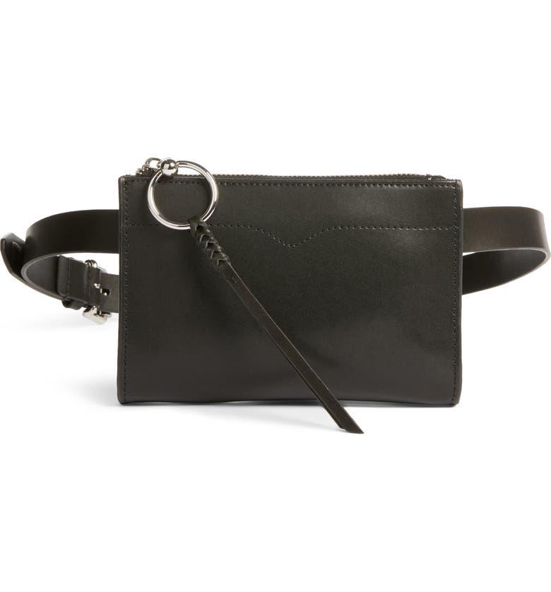 Leather Belt Bag by Rebecca Minkoff