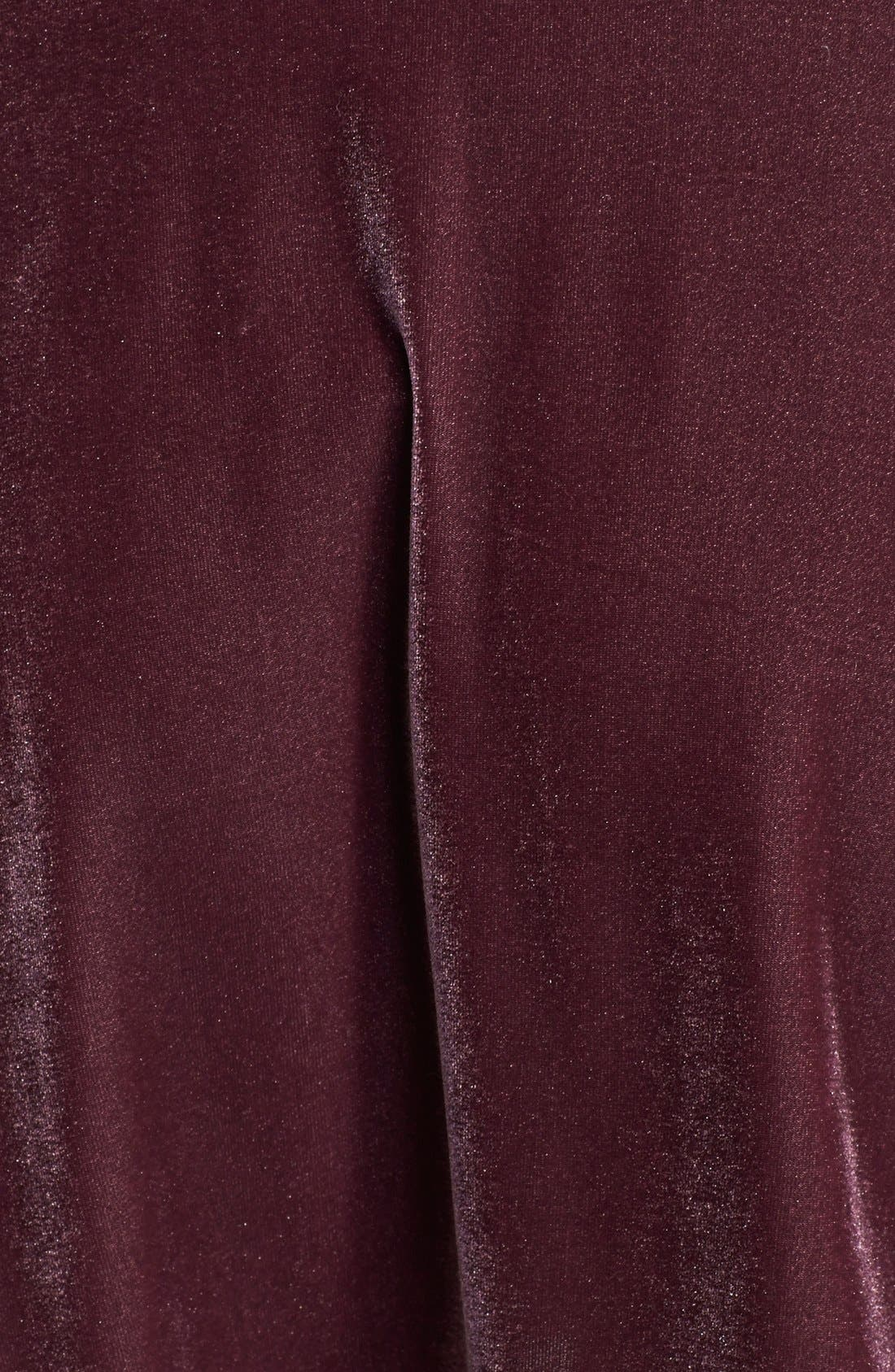 ,                             Velour Skater Skirt,                             Alternate thumbnail 9, color,                             938