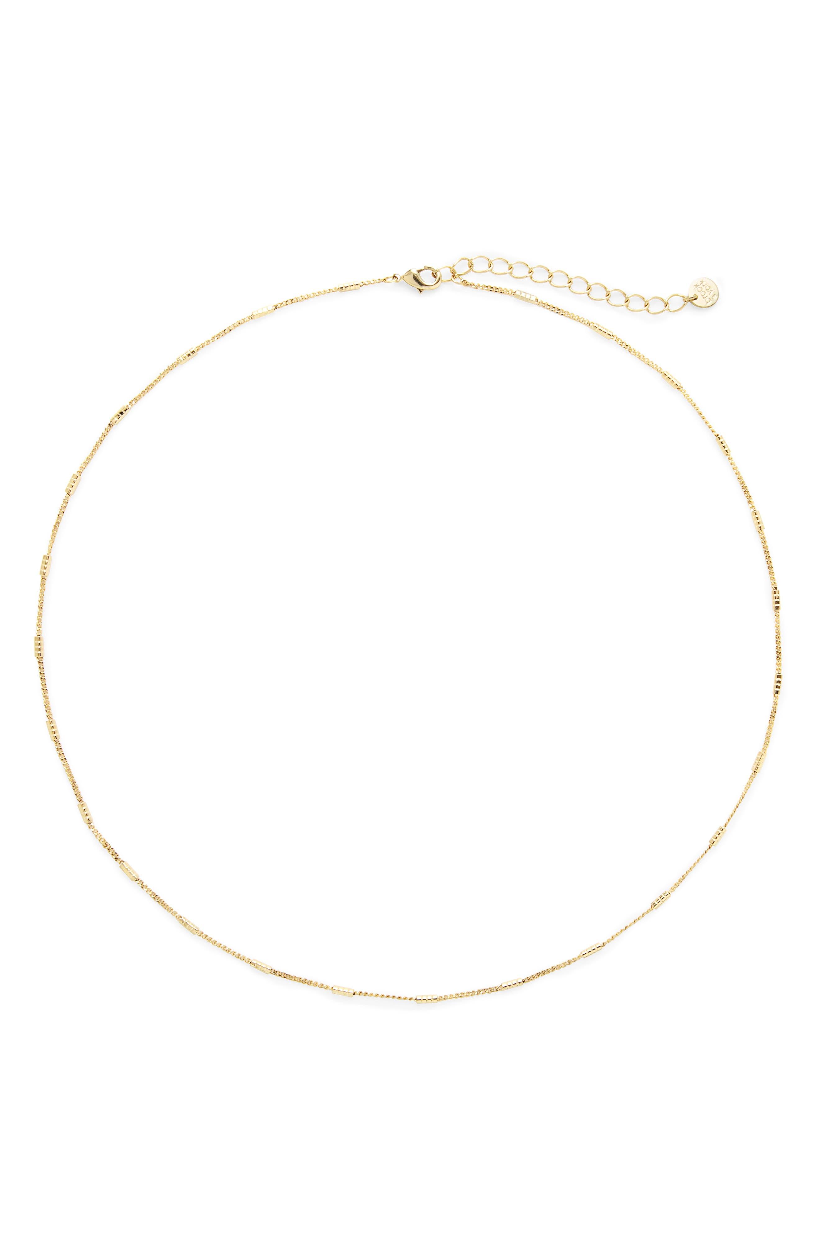 Grace Station Chain Necklace