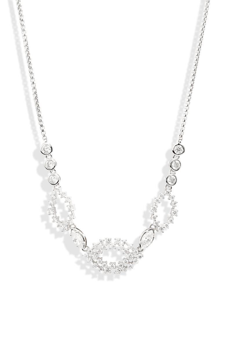 NADRI Mila Frontal Slider Necklace, Main, color, 040