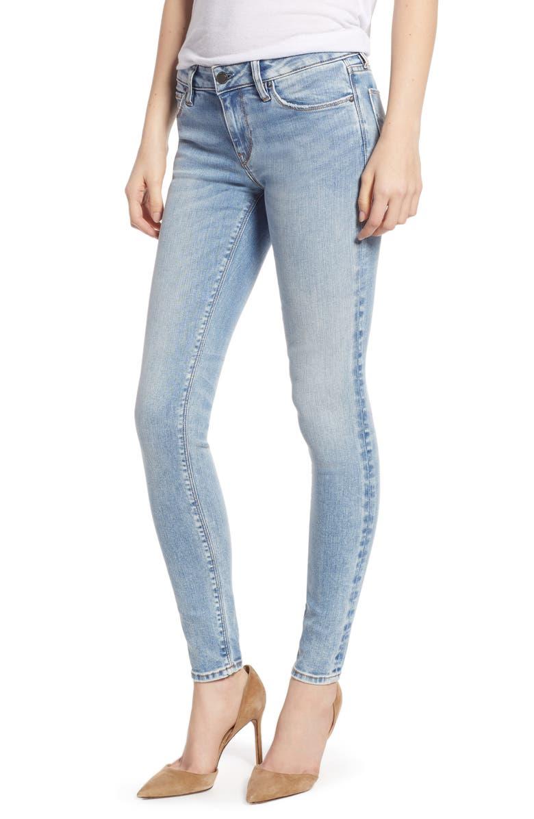 HUDSON JEANS Krista Super Skinny Jeans, Main, color, BREAKTHROUGH
