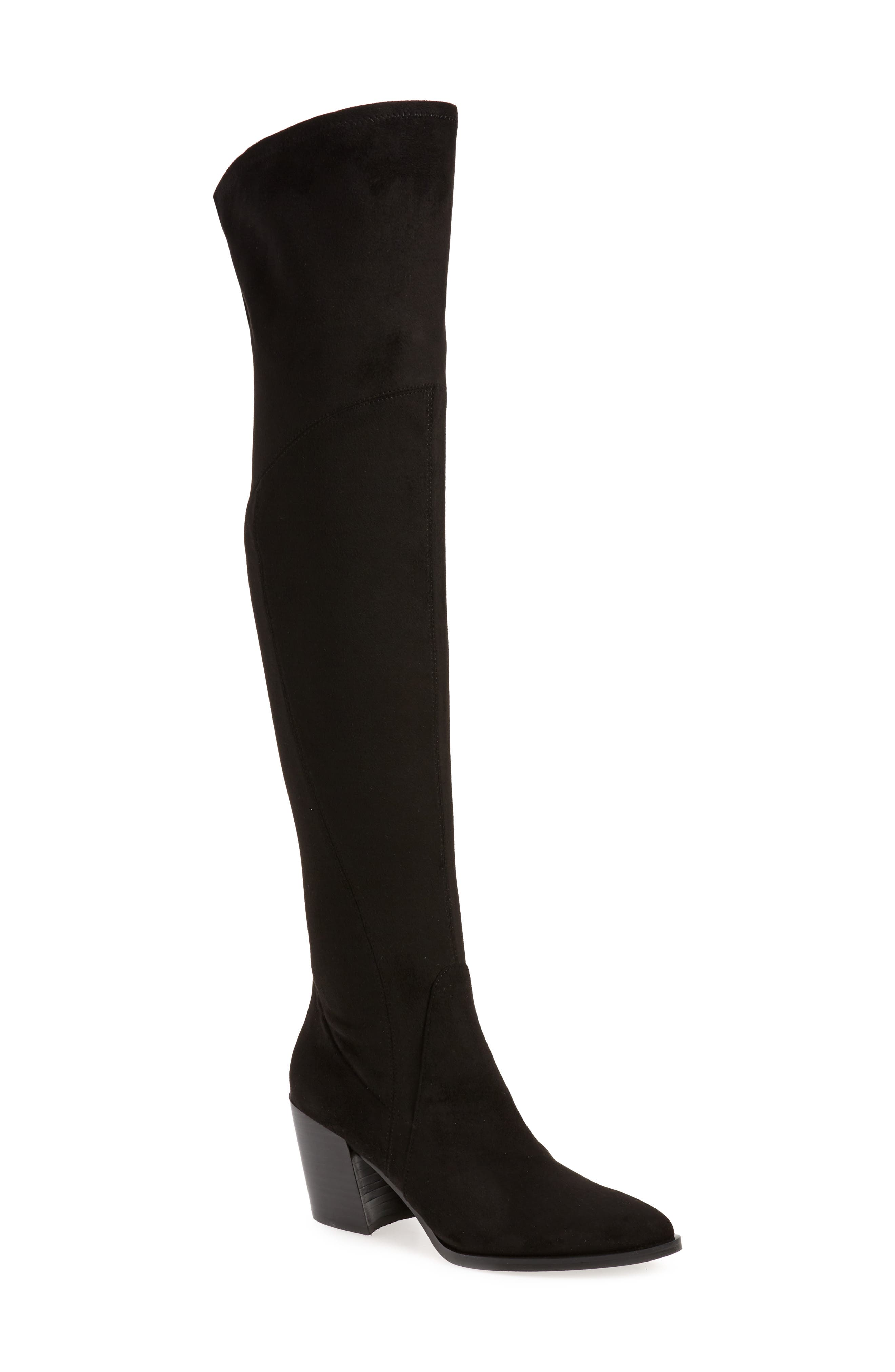 Image of Marc Fisher LTD . Cathi Pointed Toe Over the Knee Boot