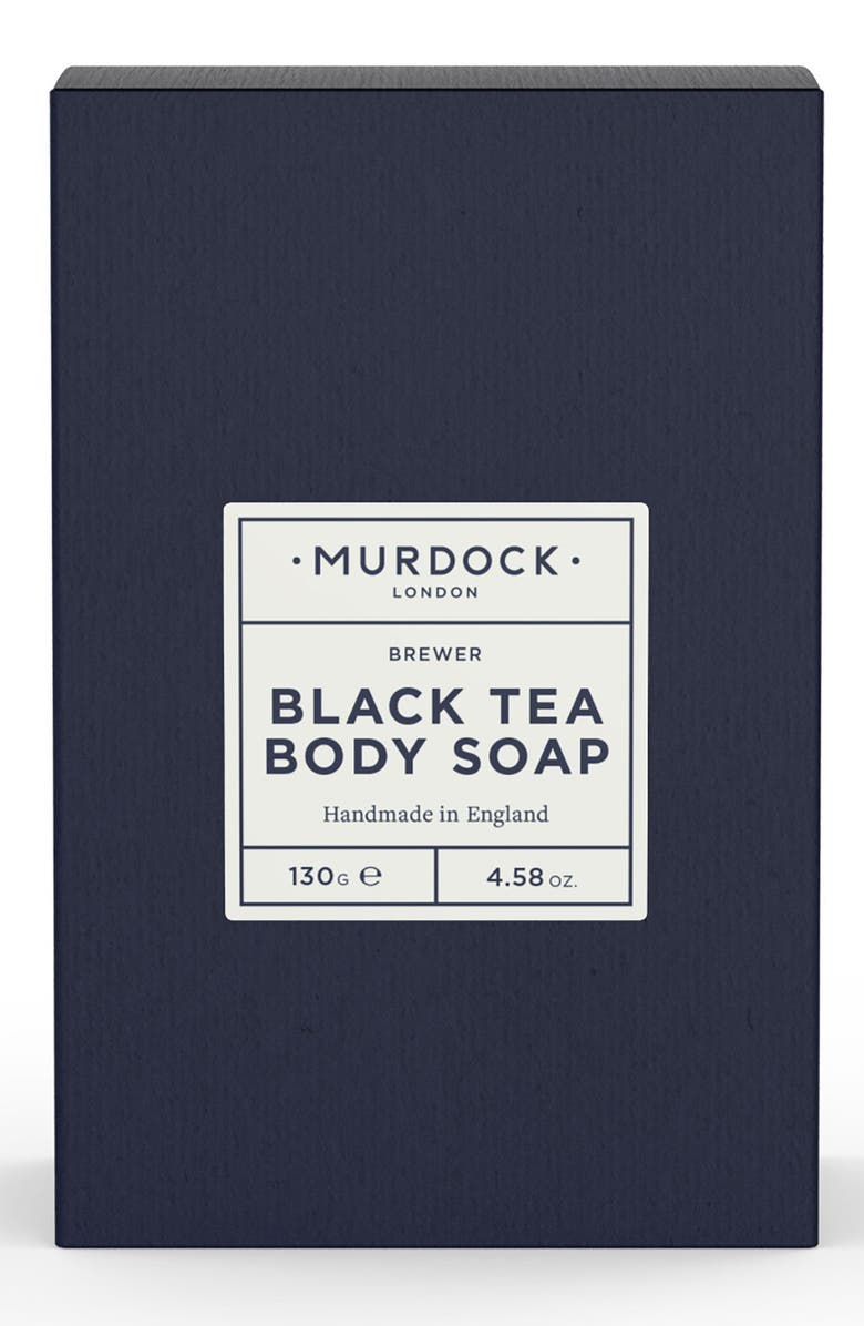MURDOCK LONDON Black Tea Body Bar Soap, Main, color, 000