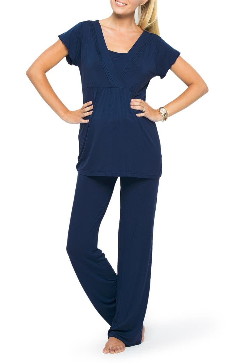 ba12d51fa82c2 Amoralia Maternity/Nursing Pajamas | Nordstrom