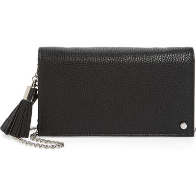 Mali + Lili Tassel Convertible Vegan Leather Clutch -