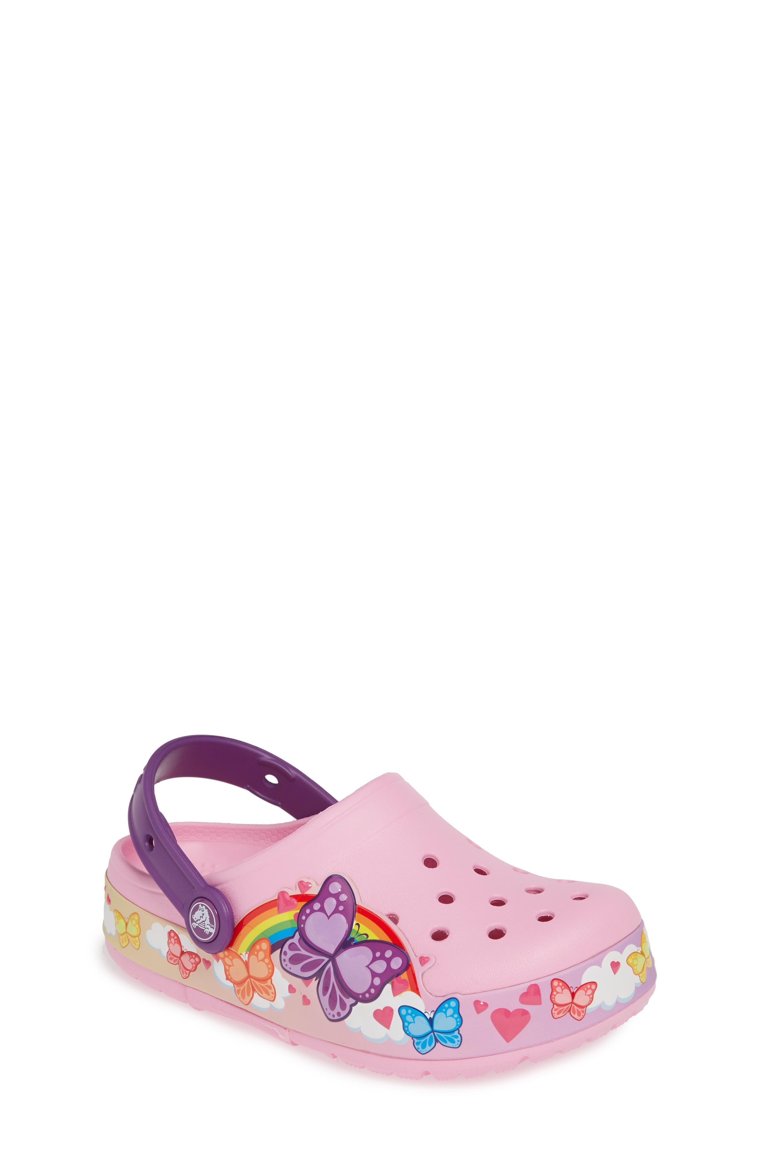 ,                             Fun Lab Butterflyband Light-Up Slip-On,                             Main thumbnail 1, color,                             652