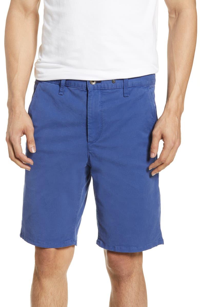 RAG & BONE Classic Chino Shorts, Main, color, WRKWEARBLU