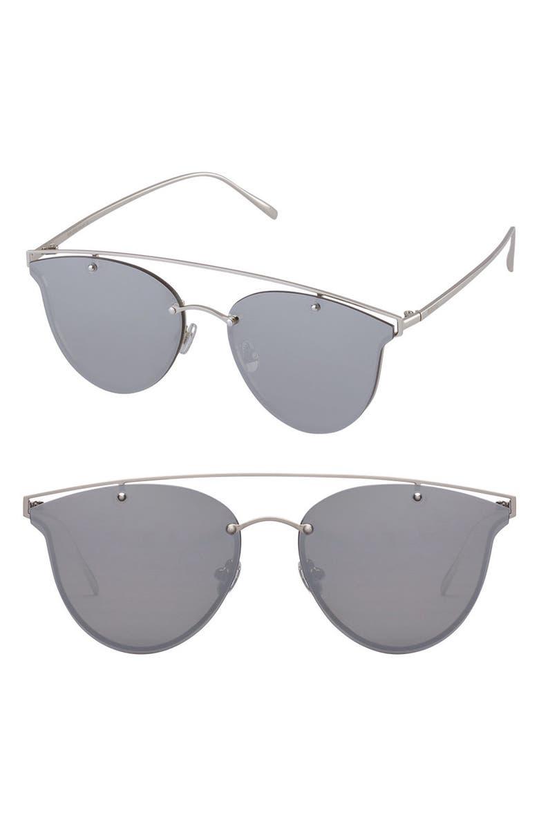 PERVERSE Mae 55mm Cat Eye Sunglasses, Main, color, 040