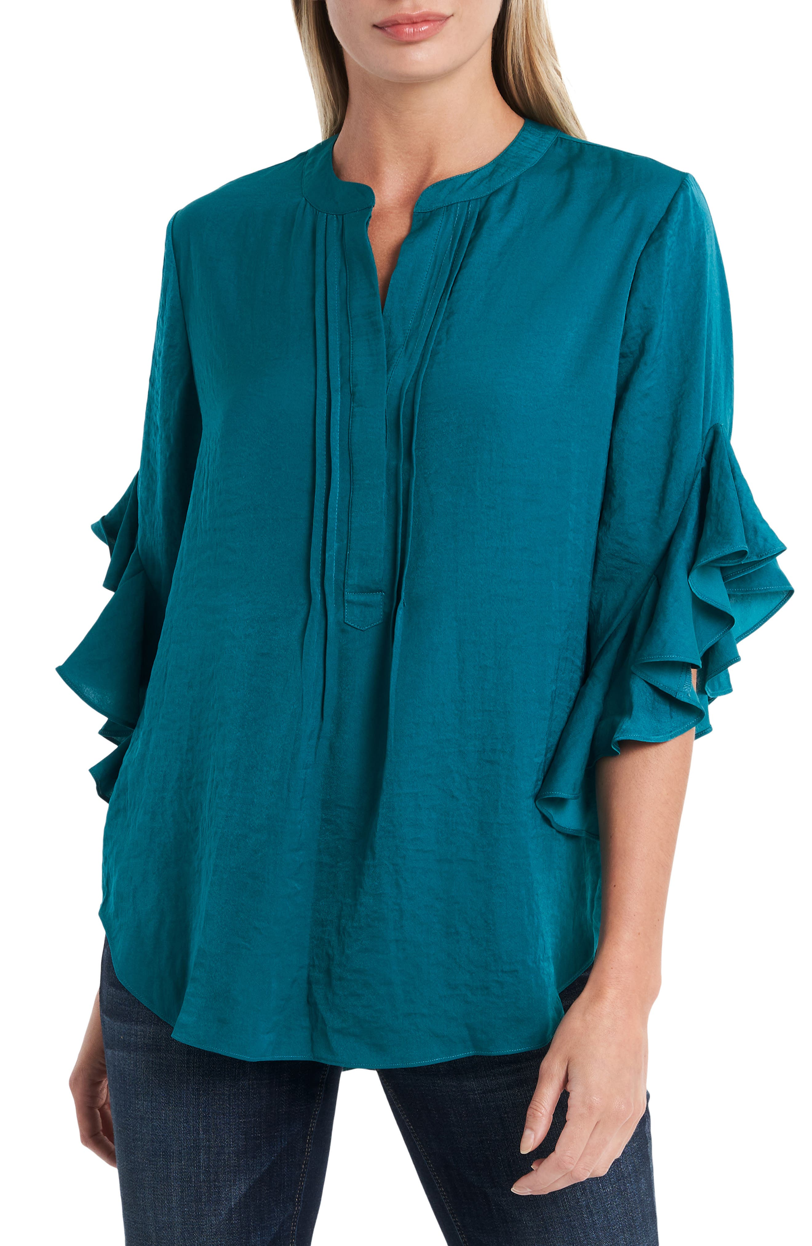 Vince Camuto Rumple Ruffle Blouse   Nordstrom