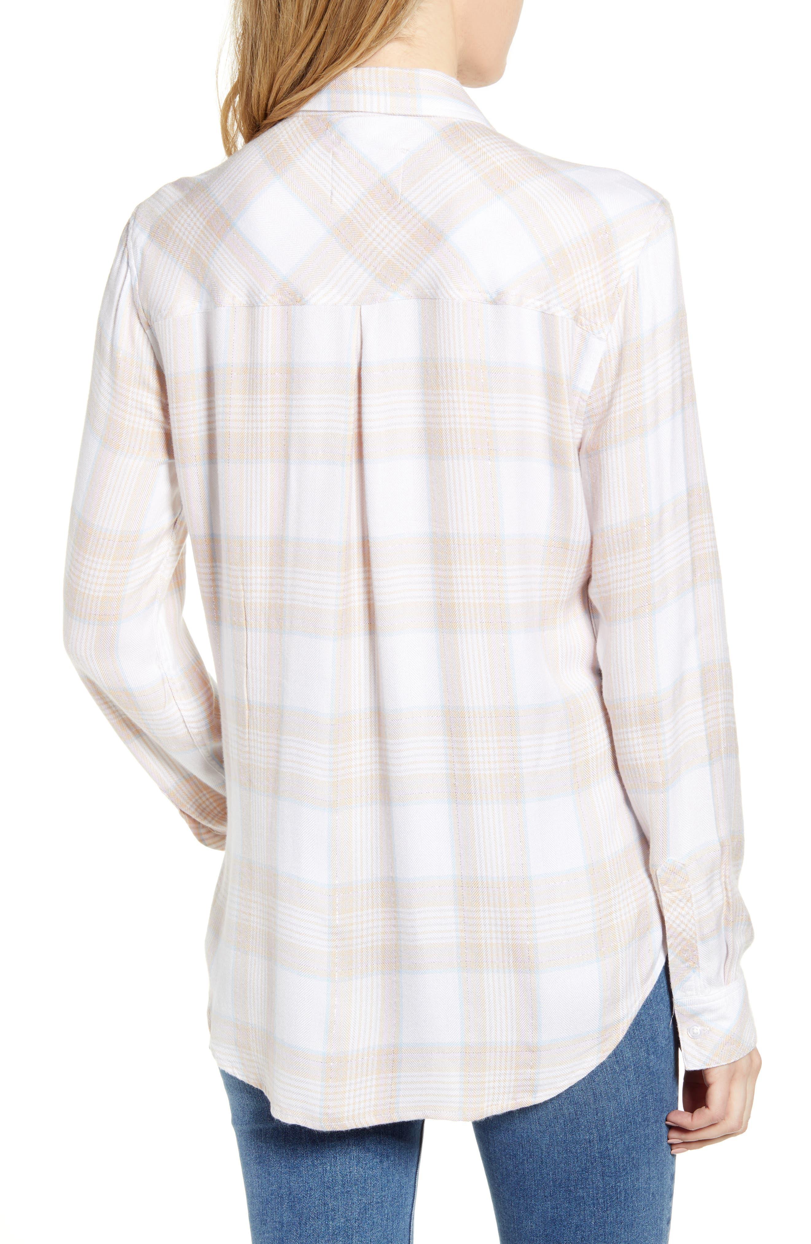 ,                             Hunter Plaid Shirt,                             Alternate thumbnail 190, color,                             651