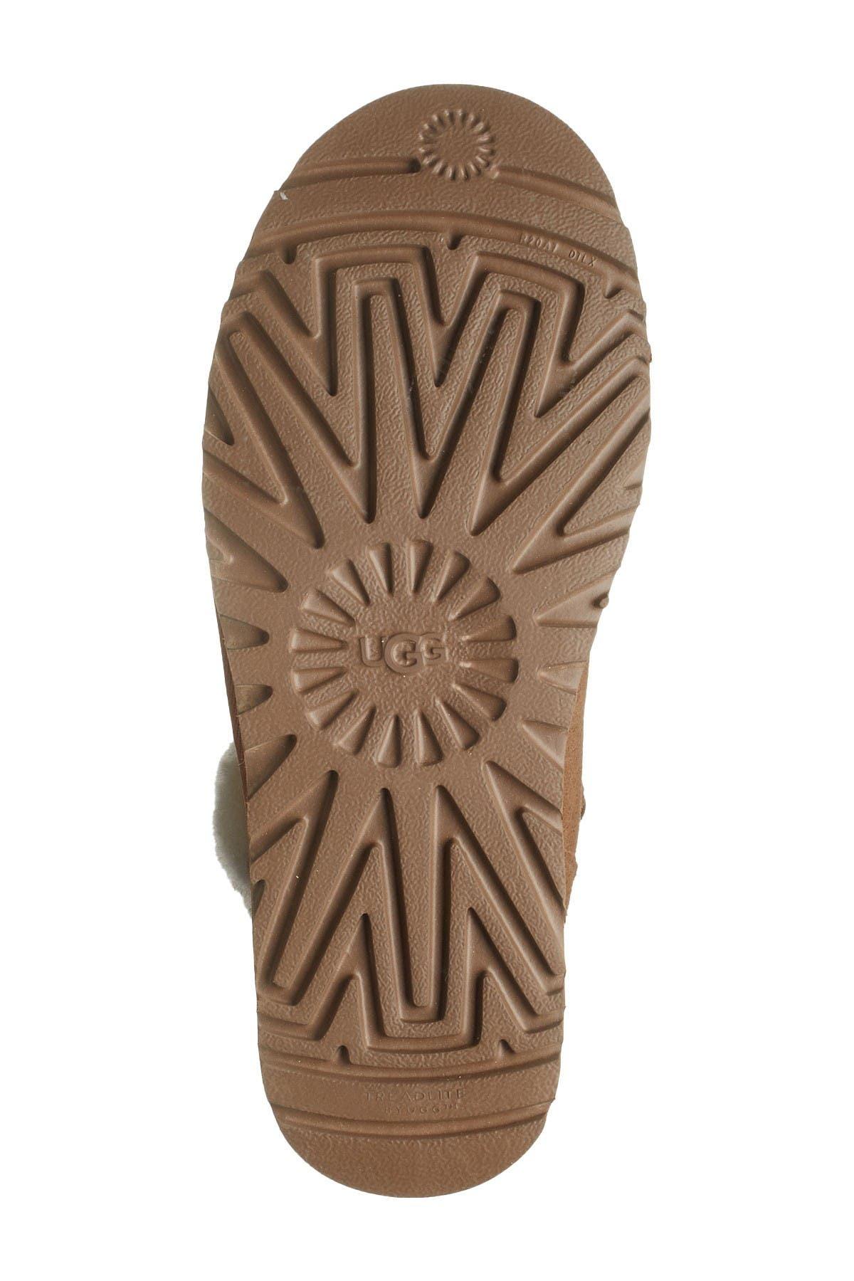 UGG Klea Genuine Lamb Fur Tall Boot