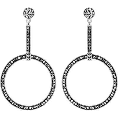 Lagos Enso Signature Circle Drop Earrings