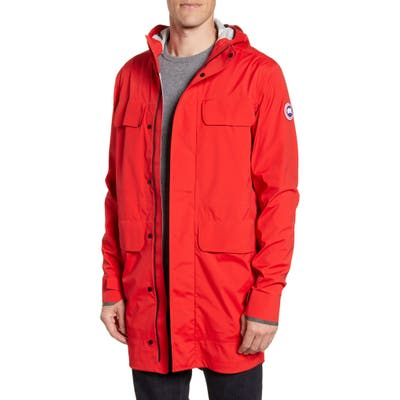 Canada Goose Seawolf Regular Fit Packable Waterproof Jacket, Red