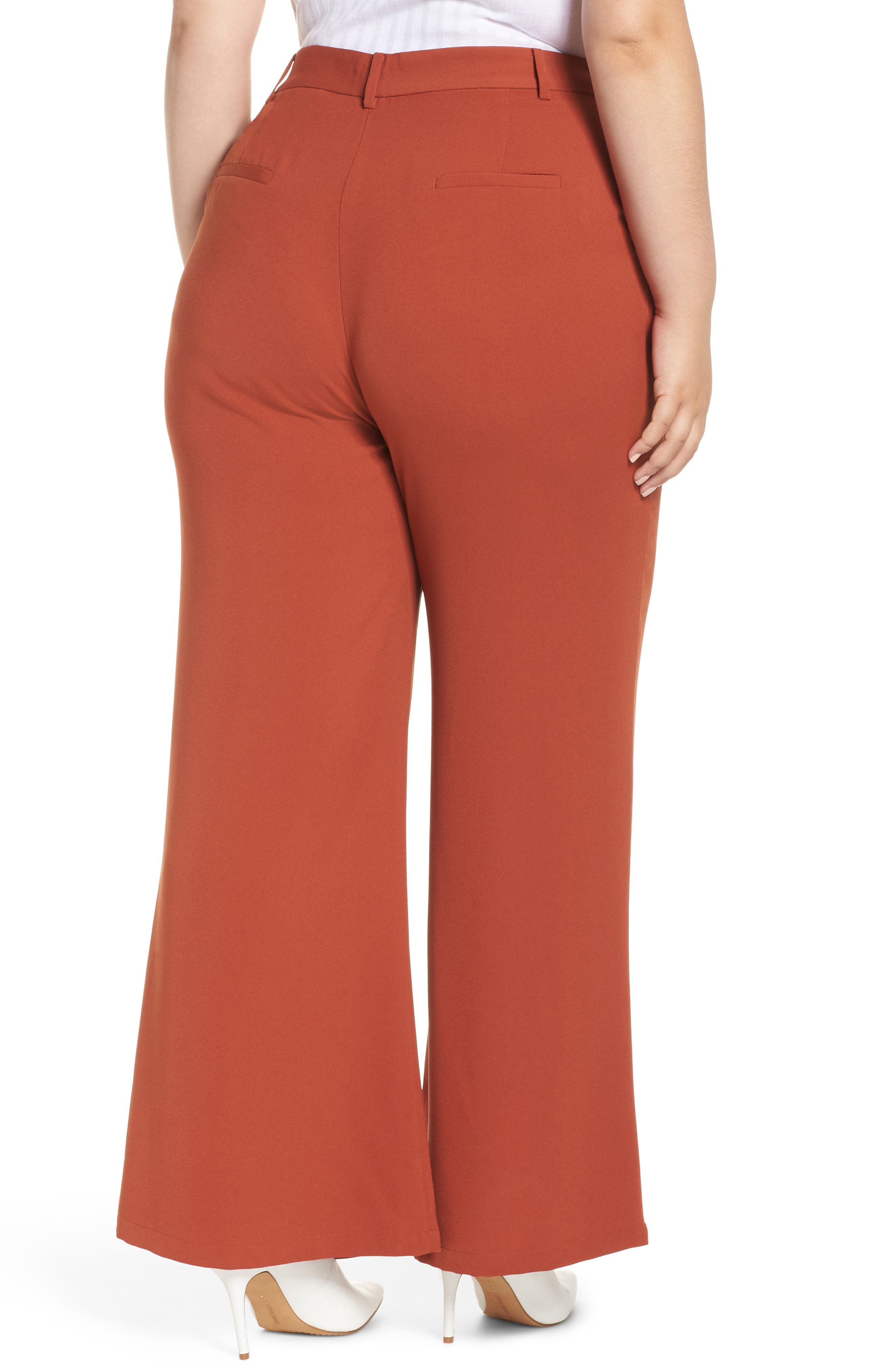 ,                             High Waist Flare Pants,                             Alternate thumbnail 16, color,                             210