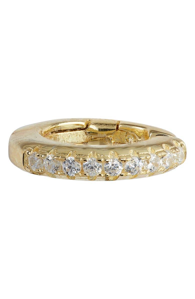 ADINA'S JEWELS Adina's Jewels Hinged Pavé Ear Cuff, Main, color, GOLD