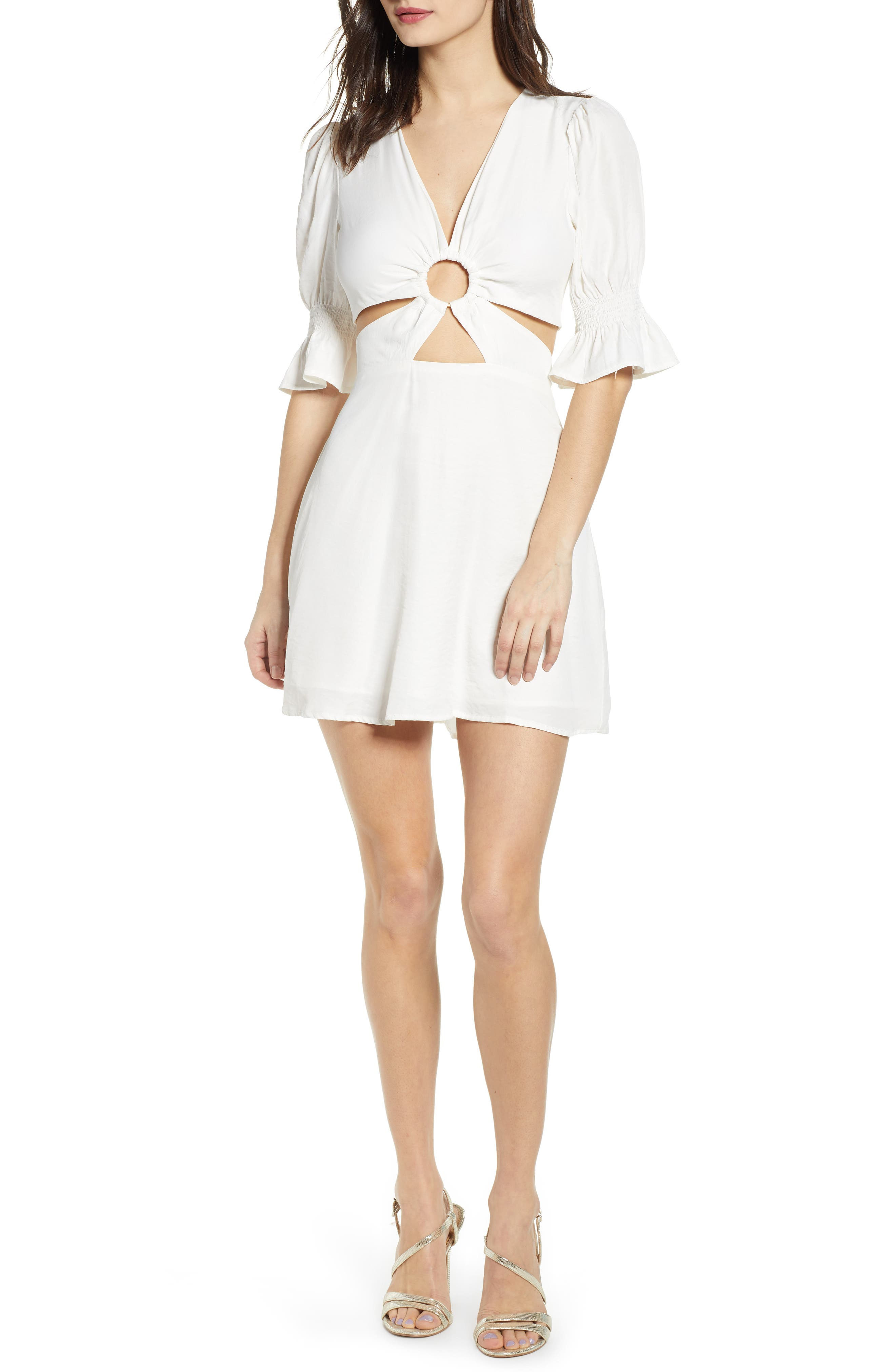 J.o.a. Minidress, Ivory