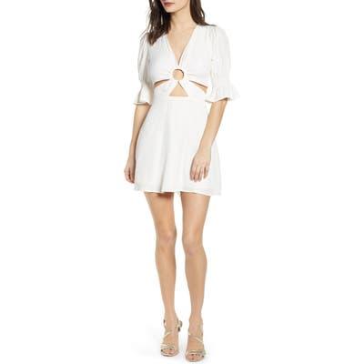 J.o.a. Minidress, Ivory