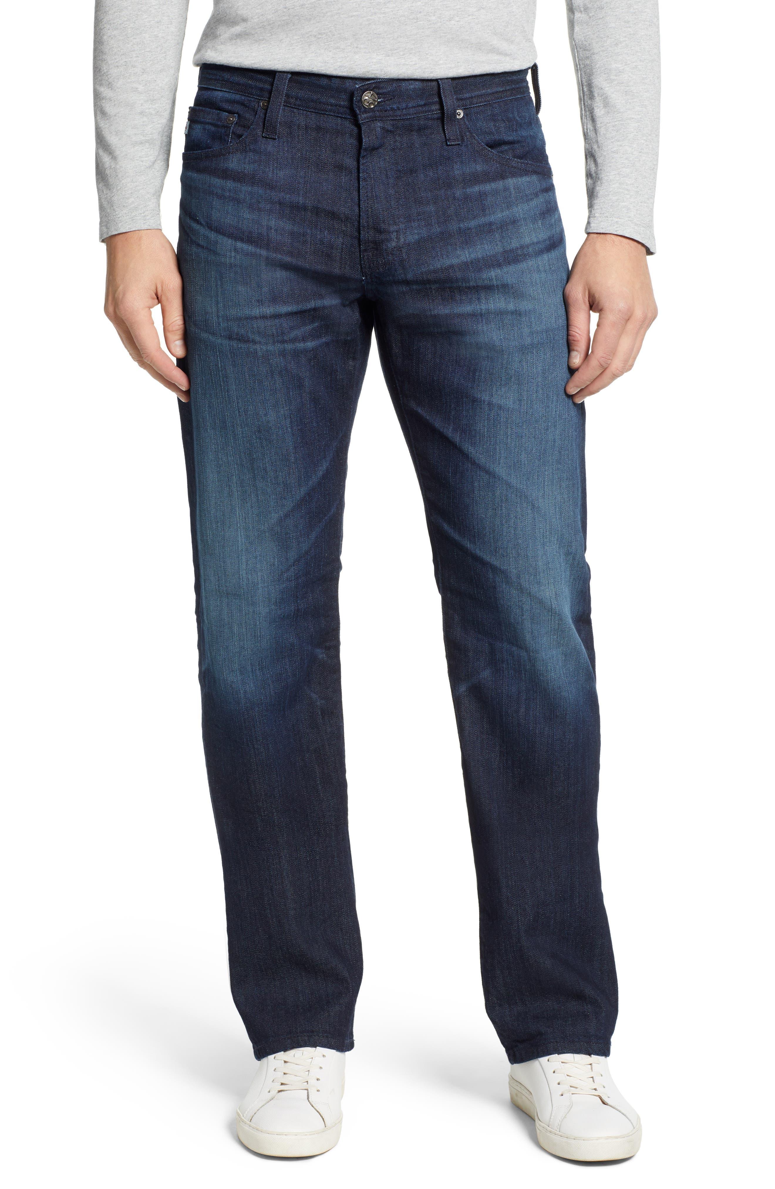 ,                             'Protégé' Straight Leg Jeans,                             Main thumbnail 8, color,                             478