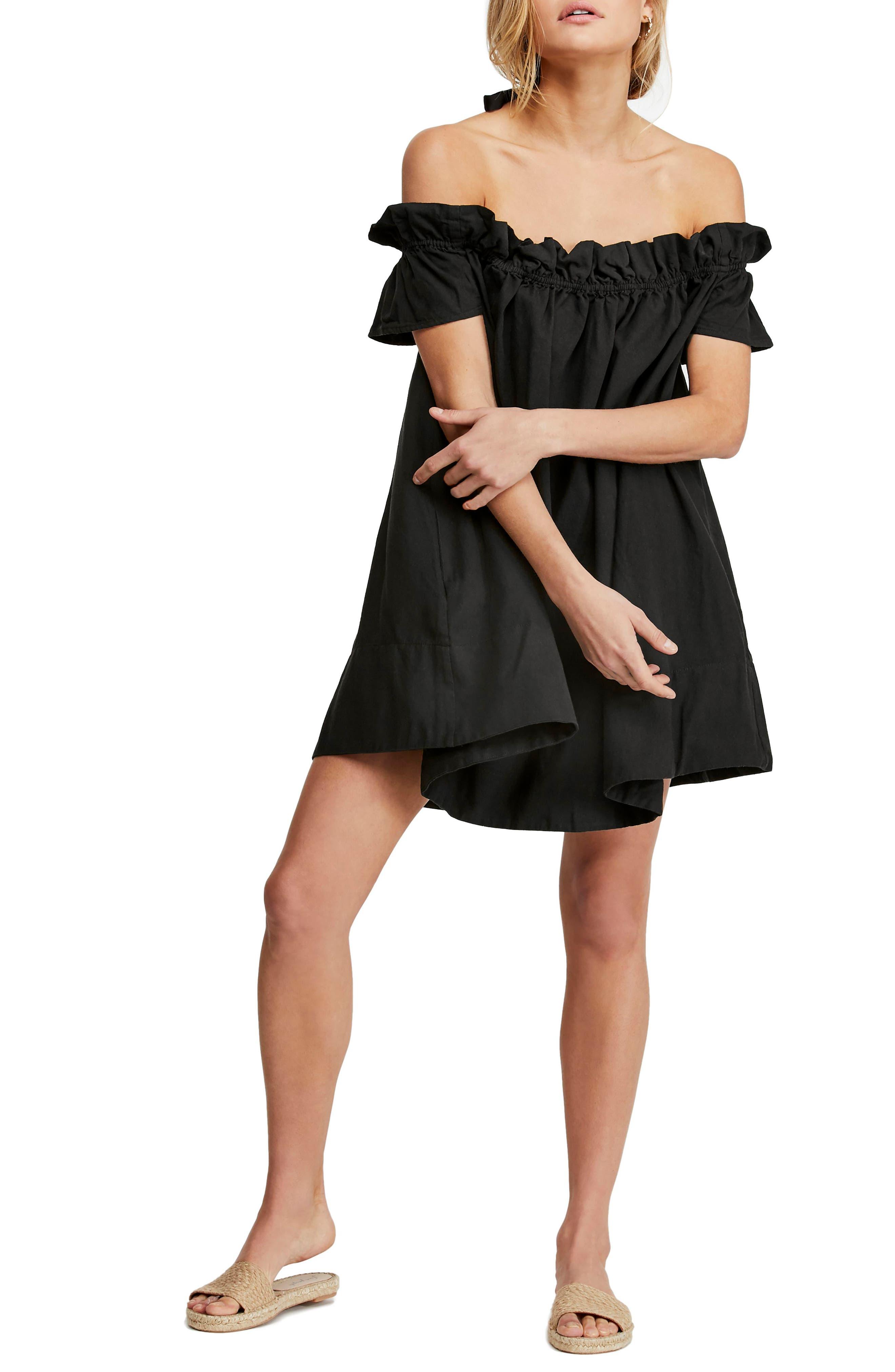Free People Sophie Off The Shoulder Dress