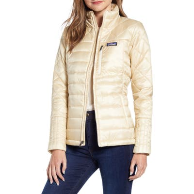 Patagonia Radalie Water Repellent Thermogreen-Insulated Jacket, White