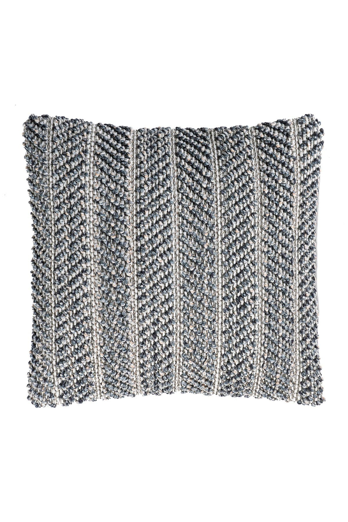 Image of nuLOOM Vega Textured Stripe Throw Pillow Cover