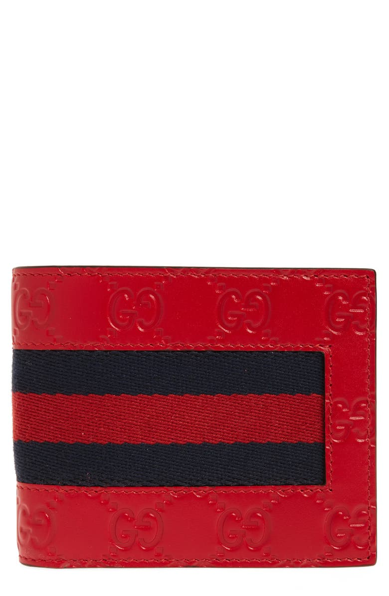 GUCCI New Web Wallet, Main, color, 600