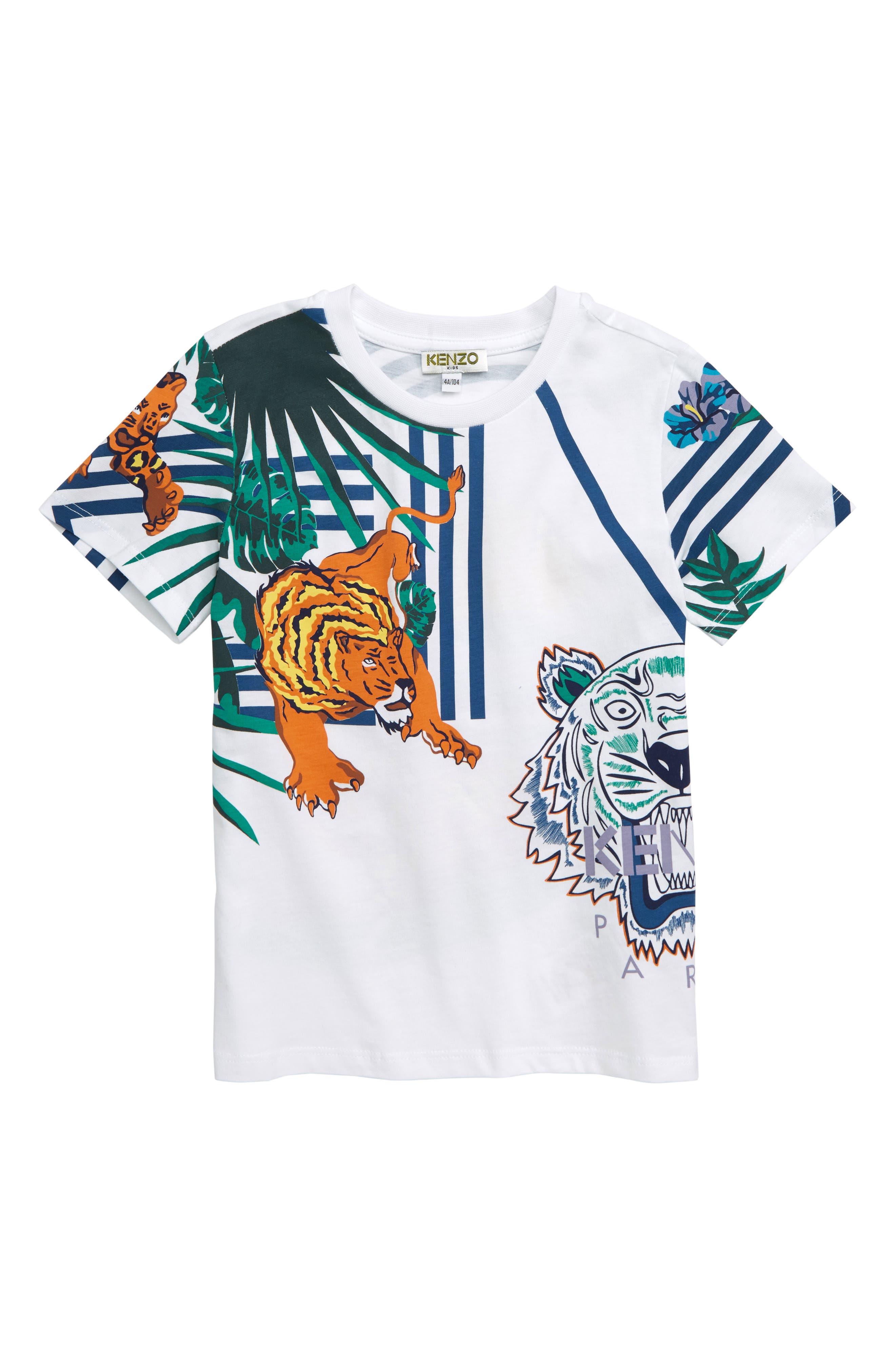 Multi Iconics T-Shirt, Main, color, 100