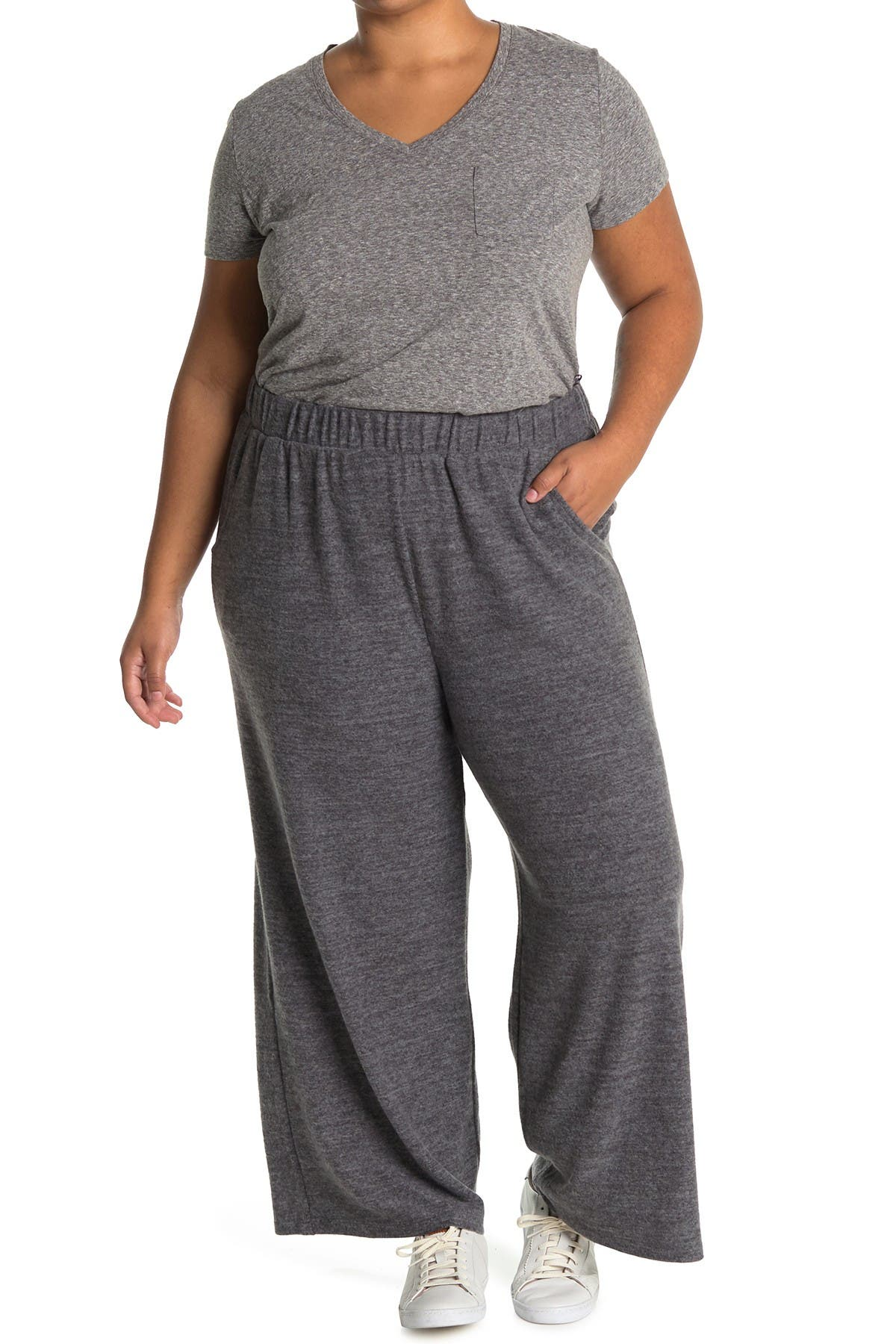 Image of Collective Concepts Cozy Wide Leg Pants