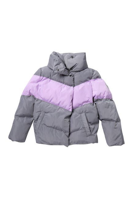 Image of Calvin Klein Colorblock Puffer Jacket