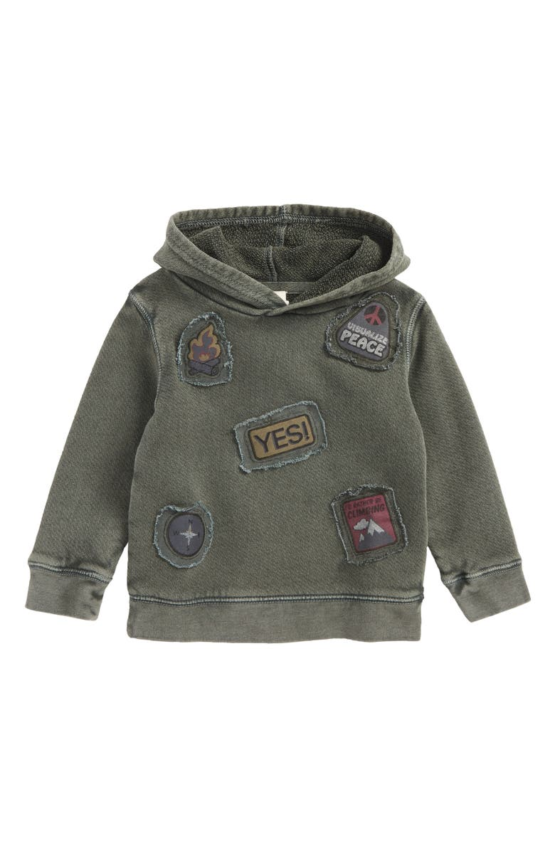TUCKER + TATE Patches Hoodie, Main, color, 311