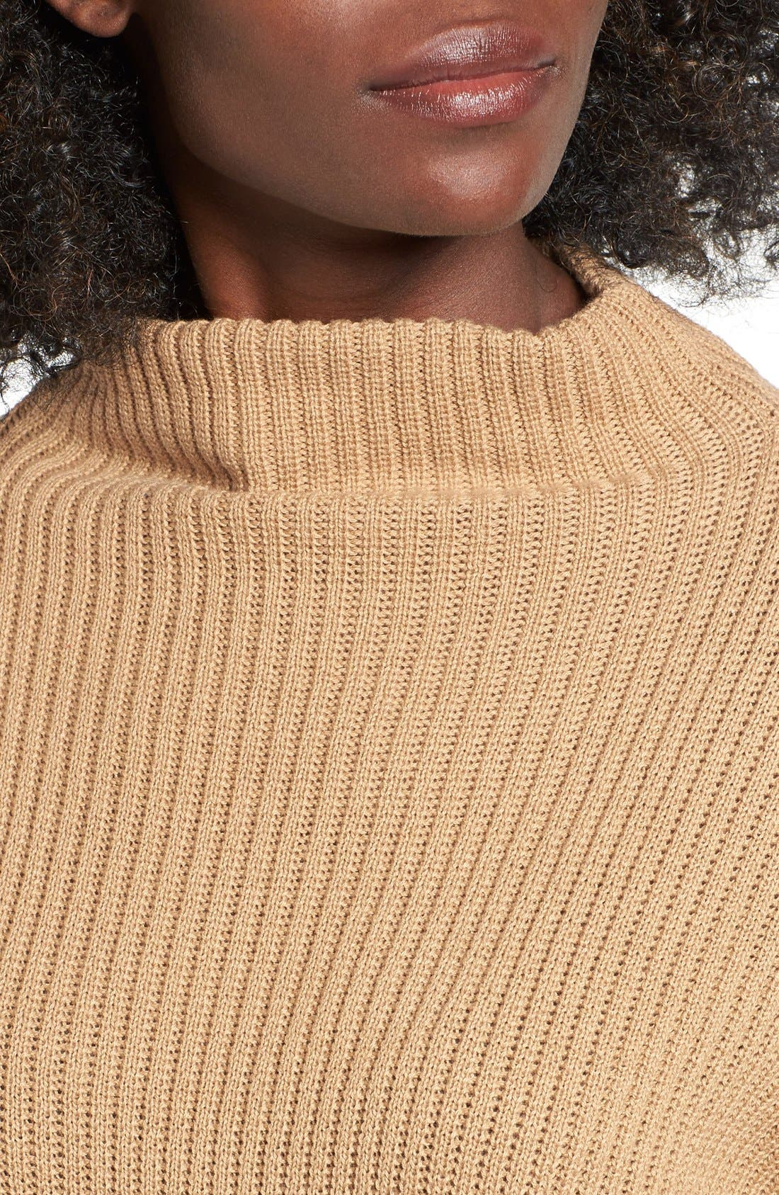 ,                             Mock Neck Sweater,                             Alternate thumbnail 14, color,                             251
