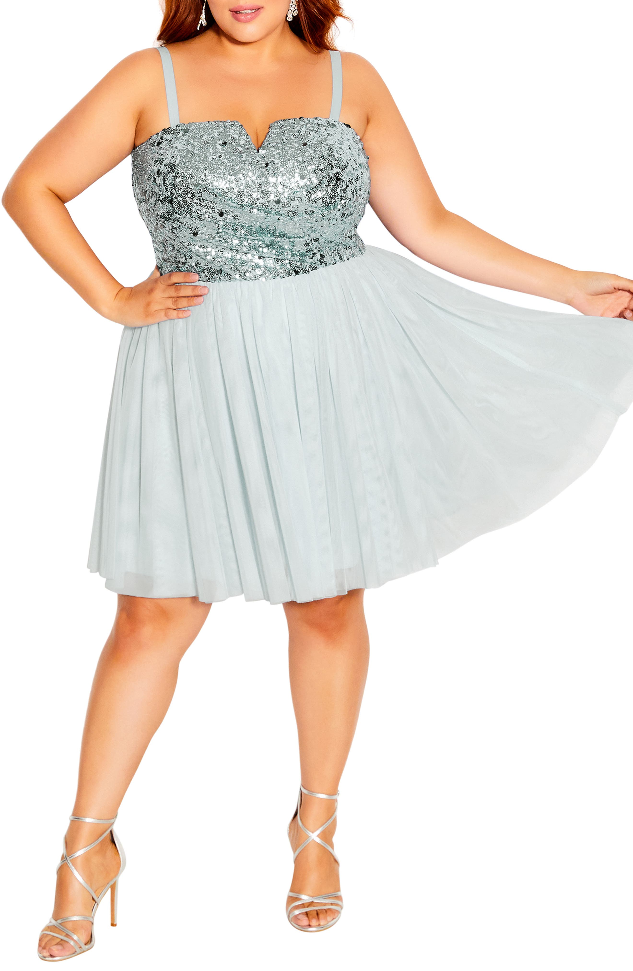 Sparkle Tulle Convertible Dress