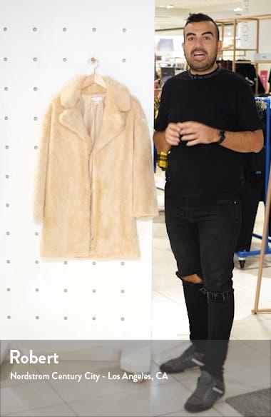 Eclipse Luxe Faux Fur Coat, sales video thumbnail
