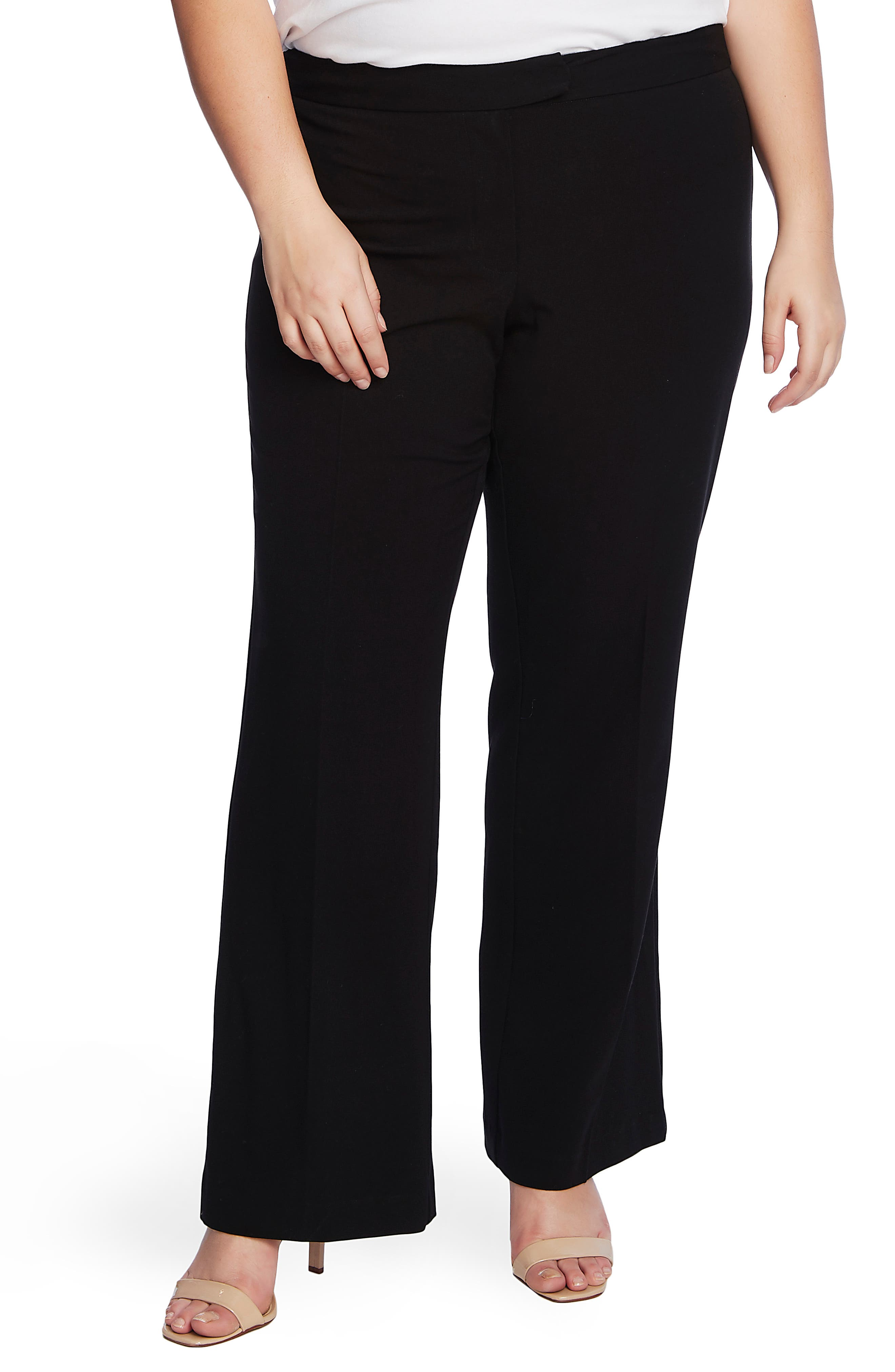 Vince Camuto Wide Leg Trousers (Plus Size) | Nordstrom