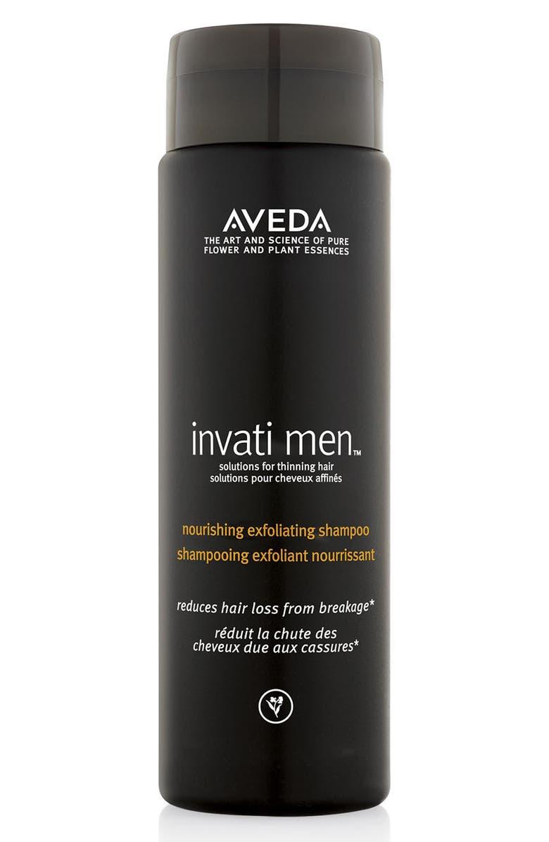 AVEDA invati men<sup>™</sup> Nourishing Exfoliating Shampoo, Main, color, NO COLOR