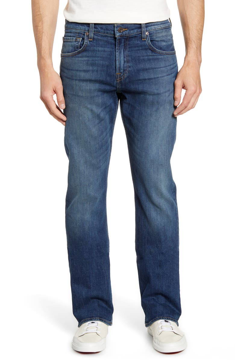7 FOR ALL MANKIND<SUP>®</SUP> Brett Bootcut Jeans, Main, color, REBEL