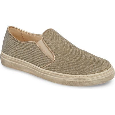 Garbor Fashion Slip-On Sneaker, Metallic