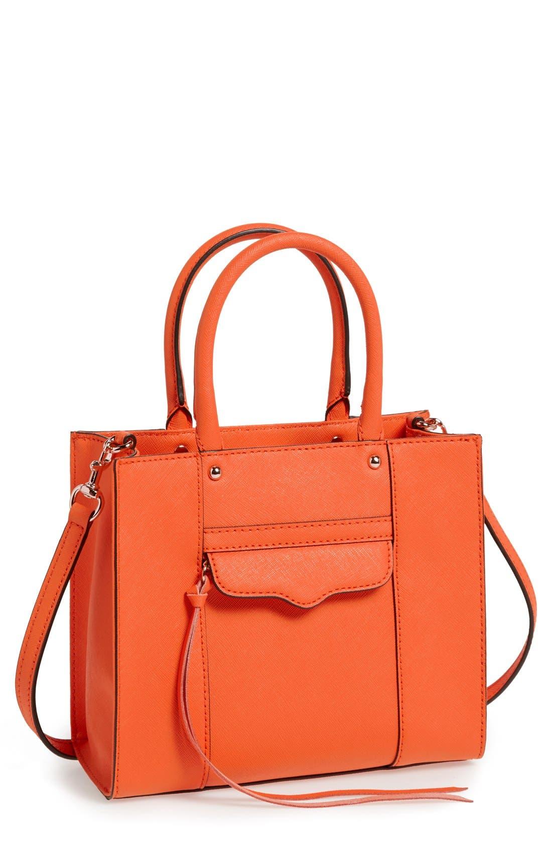 ,                             'Mini MAB Tote' Crossbody Bag,                             Main thumbnail 143, color,                             810