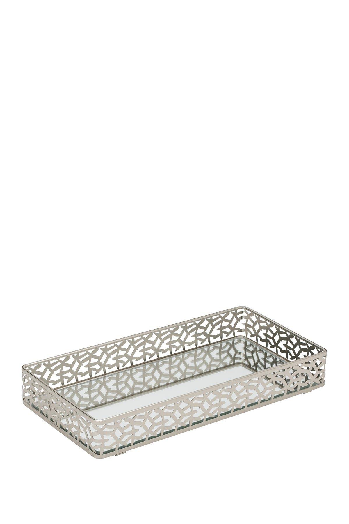 Kennedy International Inc Home Details Leaf Design Rectangular Mirror Vanity Tray Nordstrom Rack