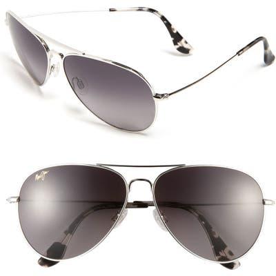Maui Jim Mavericks 61Mm Polarizedplus2 Aviator Sunglasses -