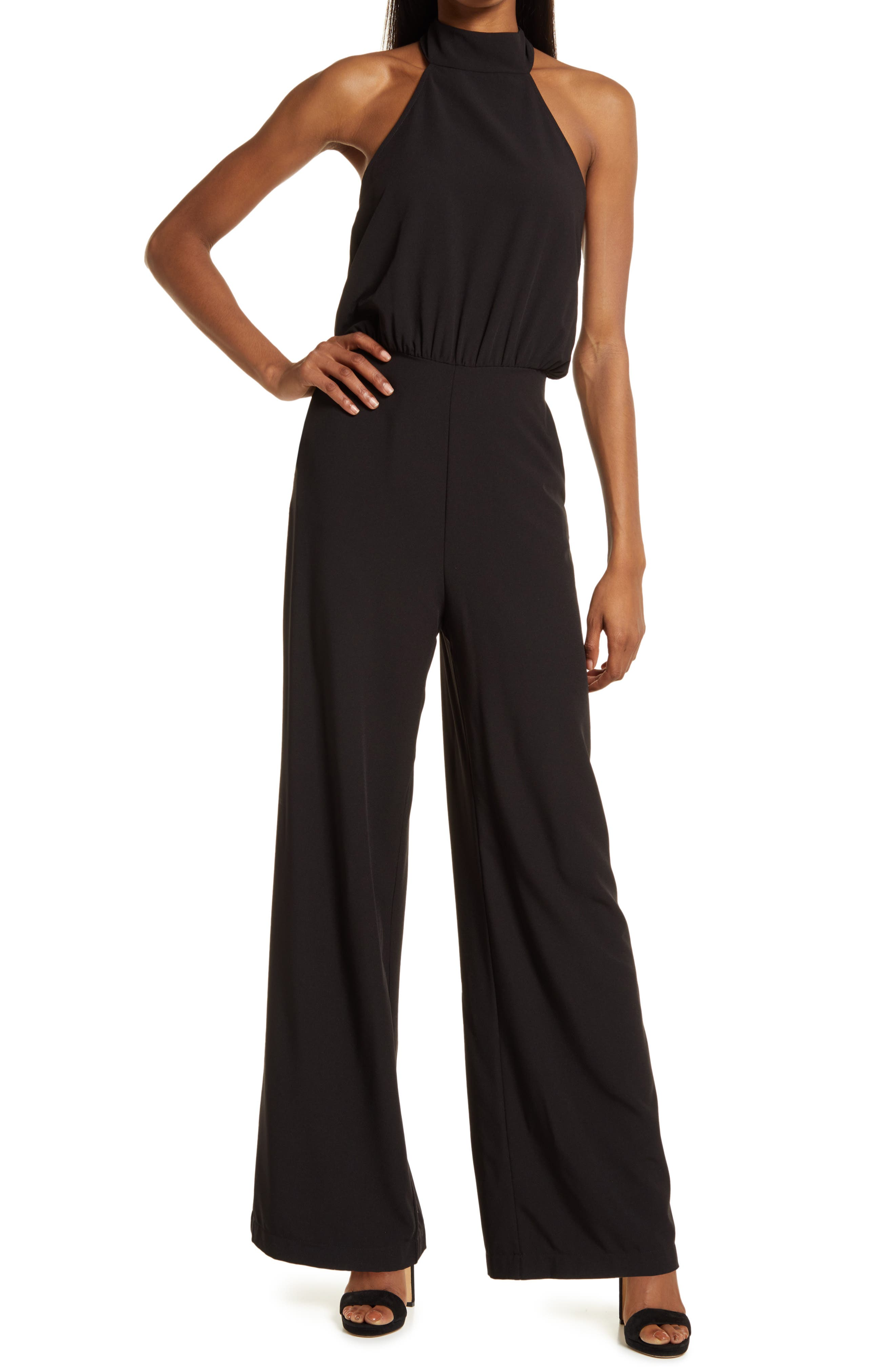 Moment For Life Halter Jumpsuit