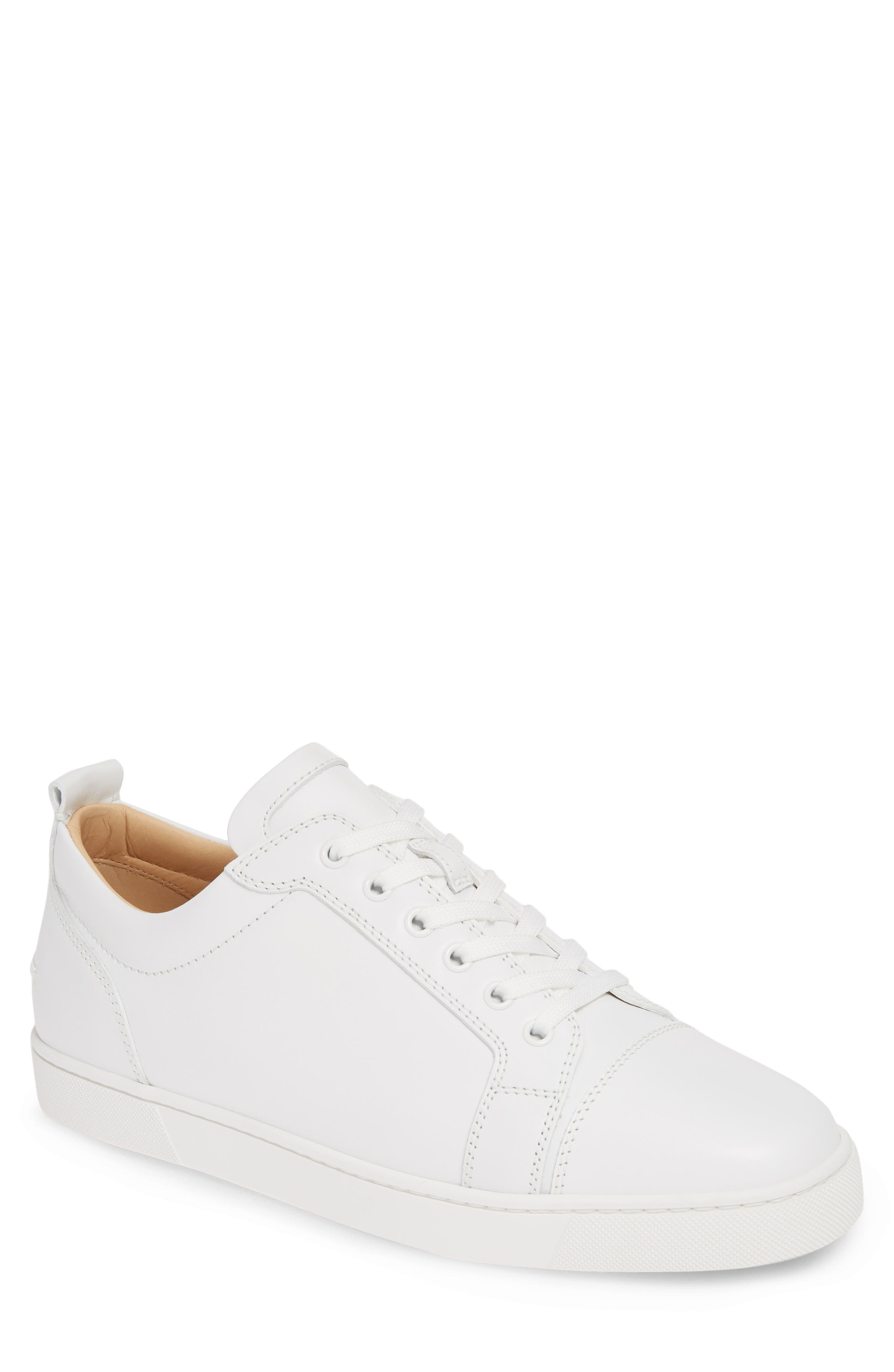 ,                             Louis Junior Low Top Sneaker,                             Main thumbnail 1, color,                             WHITE