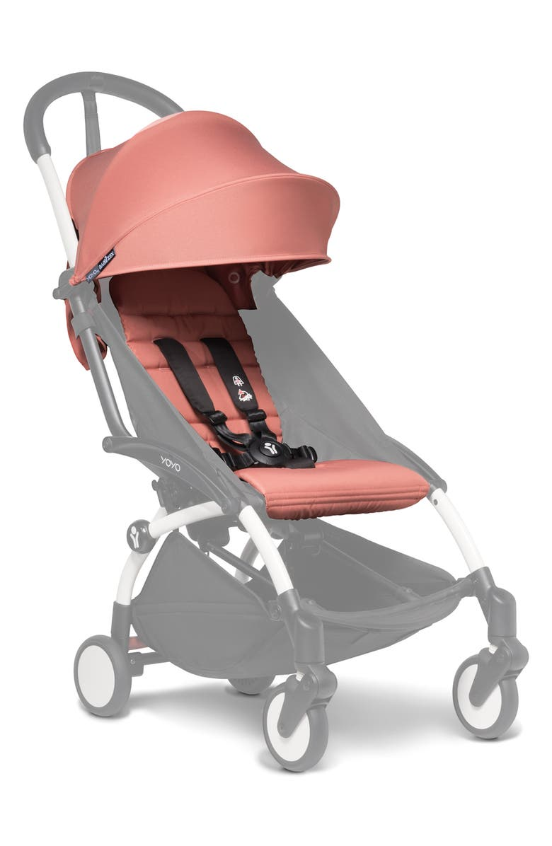 BABYZEN<SUP>™</SUP> YOYO 6+ Color Pack Seat/Fabric Set for BABYZEN YOYO+ and YOYO² Stroller Frames, Main, color, GINGER
