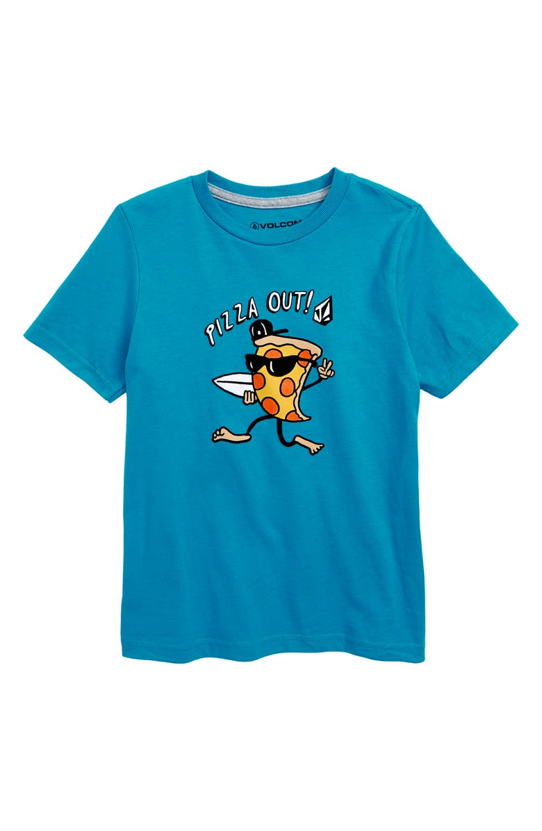 VOLCOM Pizza Out Graphic T-Shirt, Main, color, 430