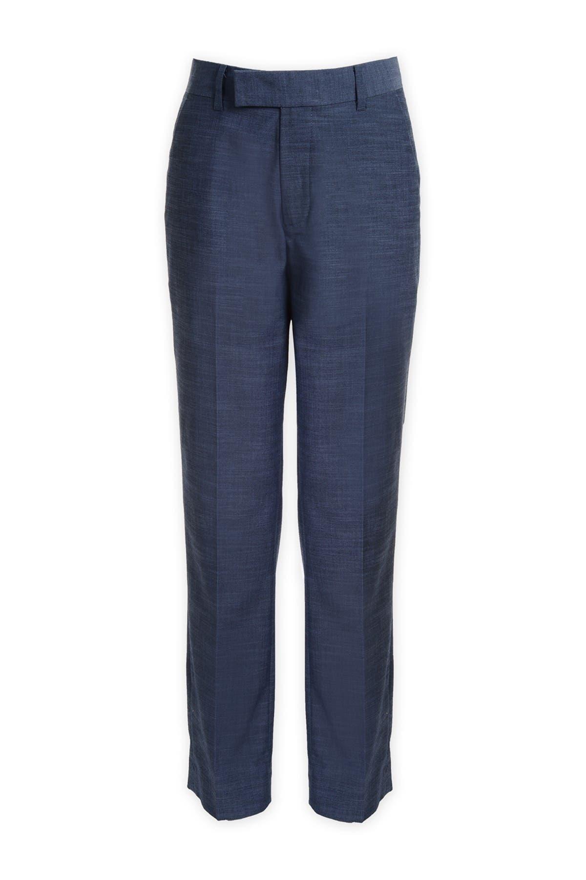 Image of Calvin Klein Plain Weave Suit Separate Pants
