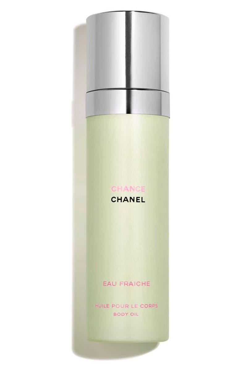 CHANEL CHANCE EAU FRAICHE <br />Body Oil Spray, Main, color, 000