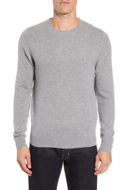 Image of NORDSTROM MEN'S SHOP Crew Neck Cashmere Sweater