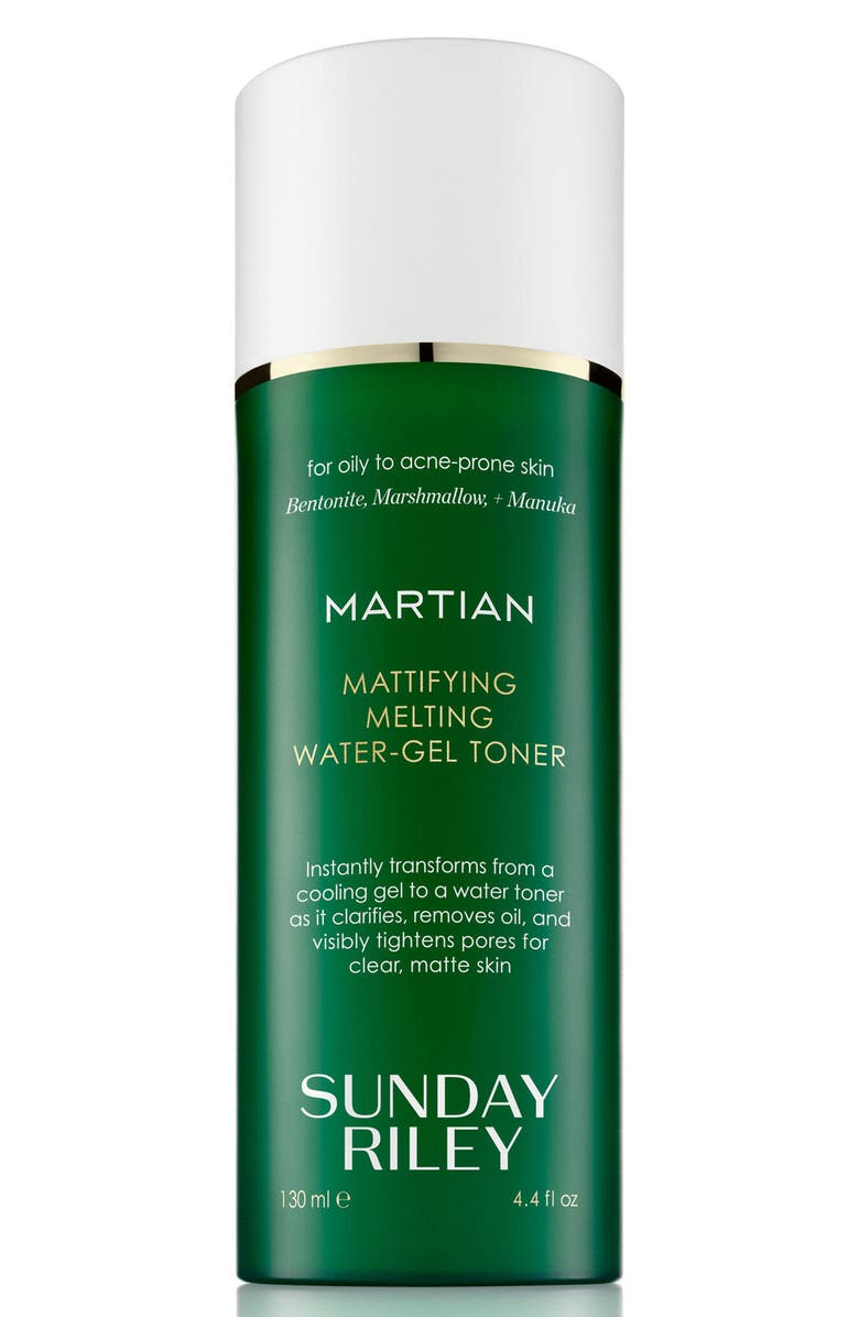 SUNDAY RILEY SPACE.NK.apothecary Sunday Riley Martian Mattifying Melting Water-Gel Toner, Main, color, NO COLOR