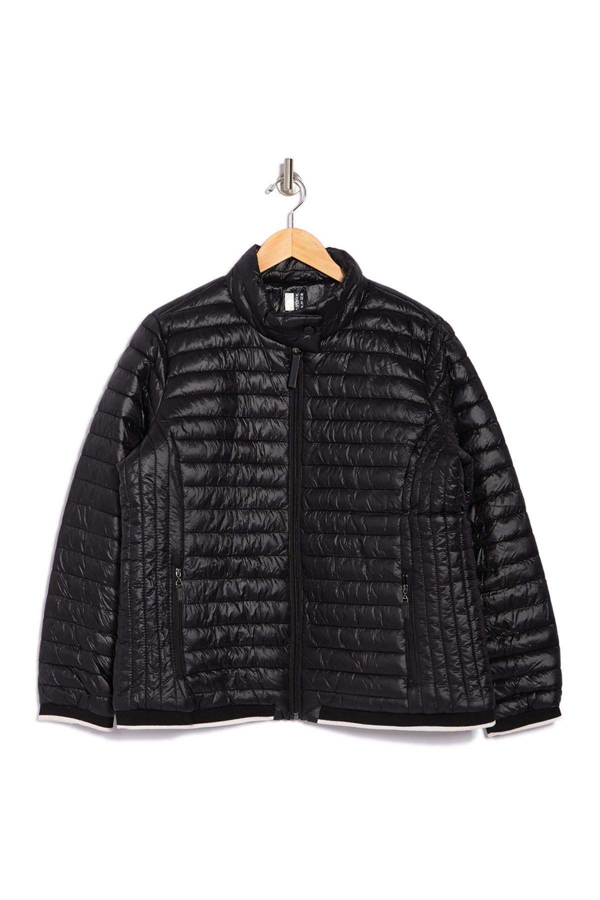 MARC NEW YORK PERFORMANCE Zip Front Packable Puffer Jacket