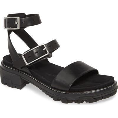 Rag & Bone Shiloh Ankle Strap Sandal - Black